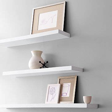17 best ideas about white floating shelves on