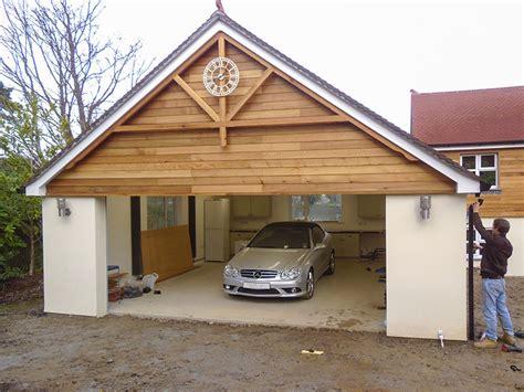 Cedar Clad Garage Doors by Garage Extension Designs American Hwy
