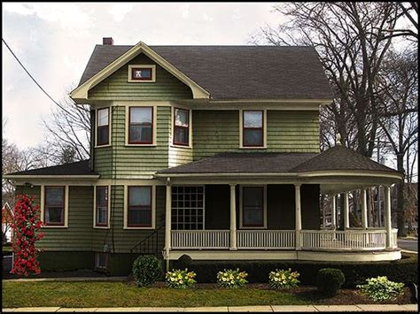 green exterior paint schemes for a new paint color scheme to bring the house to
