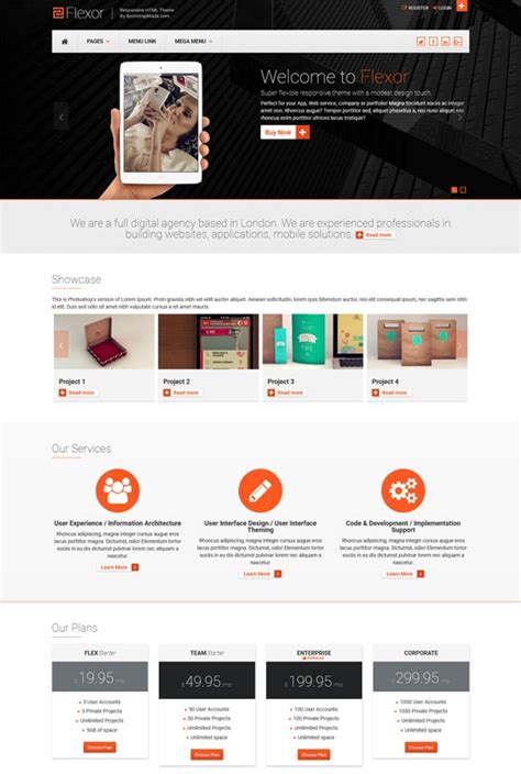 templates bootstrap parallax 100 free bootstrap html5 website templates 2018