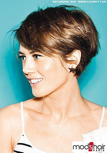 frisuren bilder femininer pilzkopf mit kurzem nacken
