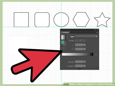 how to change gradient color in illustrator how to make gradients in adobe illustrator 10 steps