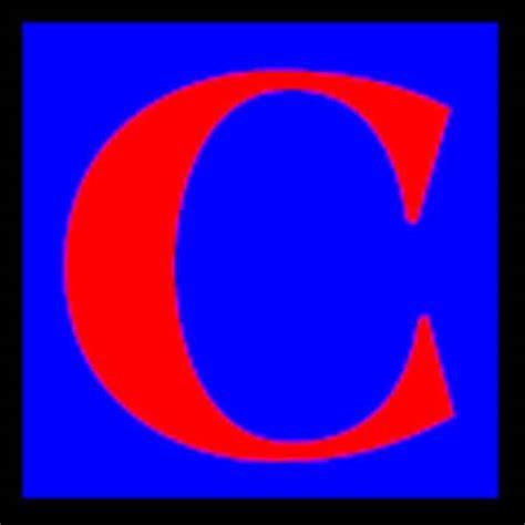 Letter For C C Letter C