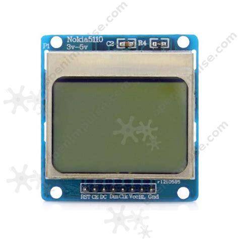 Lcd Nokia 3 nokia 5110 lcd module open impulseopen impulse