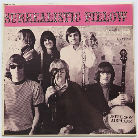 jefferson airplane surrealistic pillow album jefferson airplane uk 1967 1st press surrealistic
