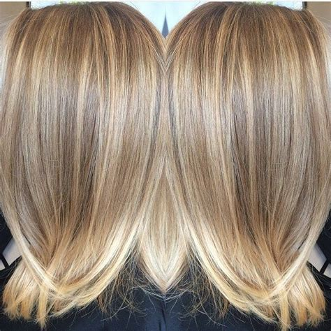 beige blolond highligh hair color trends 2017 2018 highlights beige and