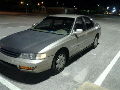96 Honda Accord For Sale by Sell Used 96 Honda Accord Lx In Mobile Alabama United States