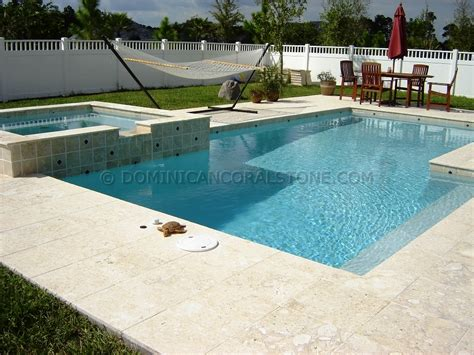 stone pool deck coral stone decks adds elegance and luxury to your pool