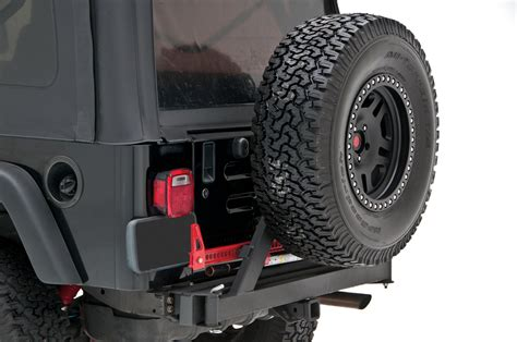 jeep rear bumper with tire rancho rs6229b rockgear rear off road bumper with tire