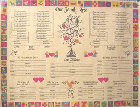 Family Tree Chart, 14