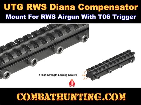 Scope Mount Recoil Compensator mnt dnt06 utg compensation mount for rws airgun with t06 trigger rifle scope mounts bases
