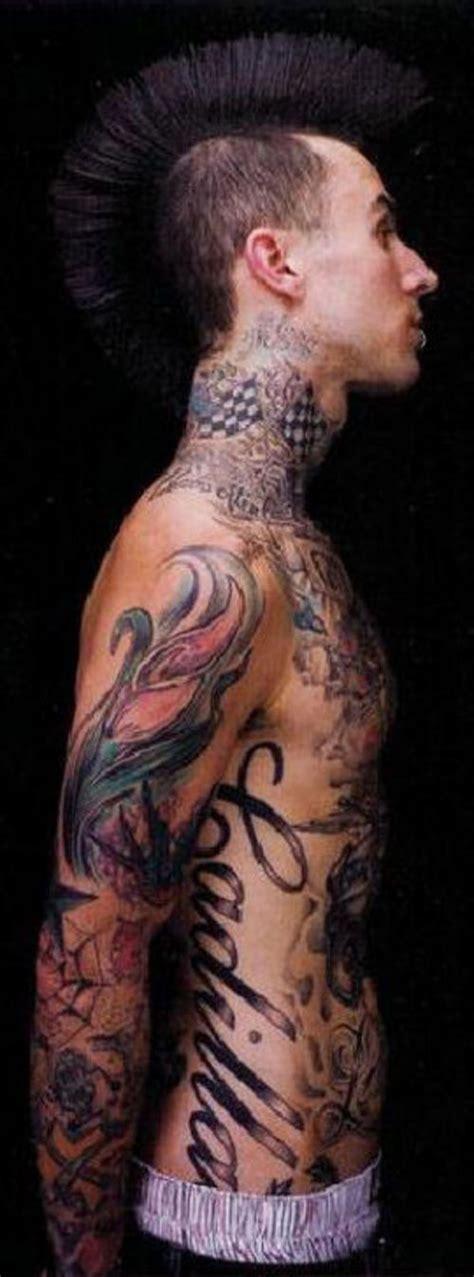 travis barker tattoos travis barker tattoos3d tattoos