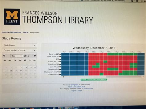 Study Room Reservation by Open All Extended Hours At Thompson Library