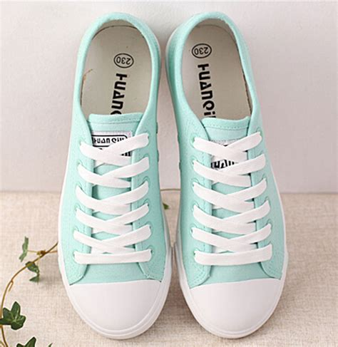 Cutie Bootie Shoes White new canvas shoes casual lace up