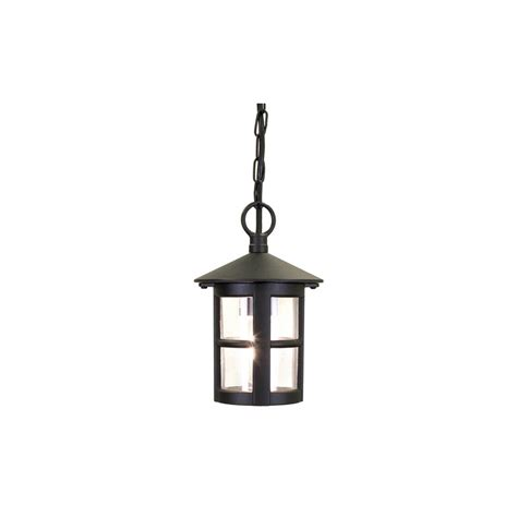 elstead bl21b hereford exterior black hanging porch light
