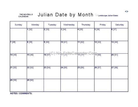 Julian Date Calendar No Frills Calendar Julian 2016 The Knownledge