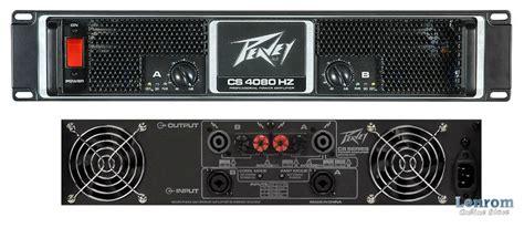 Peavey Cs 4080 Power Lifier cs 4080hz peavey cs 4080hz audiofanzine
