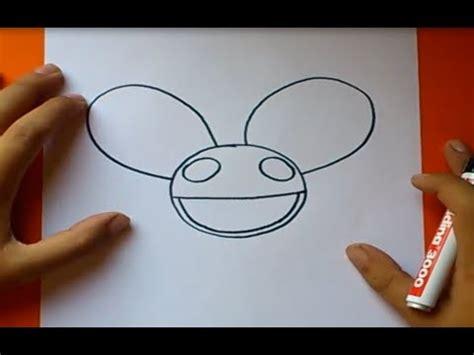 imagenes de skrillex para dibujar a lapiz como dibujar el casco de deadmau5 paso a paso how to