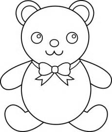 Teddy Outline Images by Teddy Clip Black And White Cliparts Co