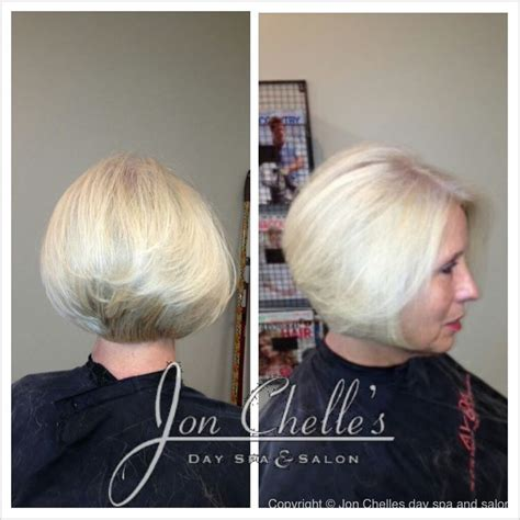high stacked bob 17 best images about hair by jon chelle s salon spa on