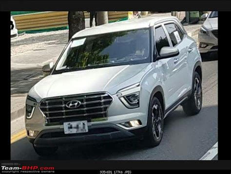 hyundai creta facelift 2020 2020 hyundai creta spied in for the time