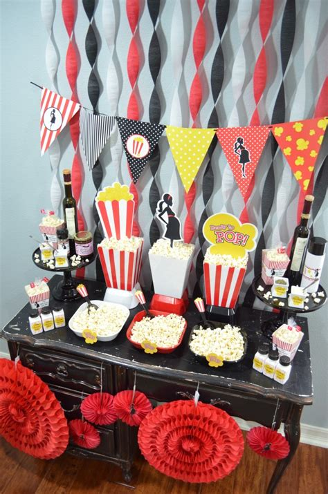 Popcorn Baby Shower Theme by Ready To Pop Baby Shower Candles And Favors