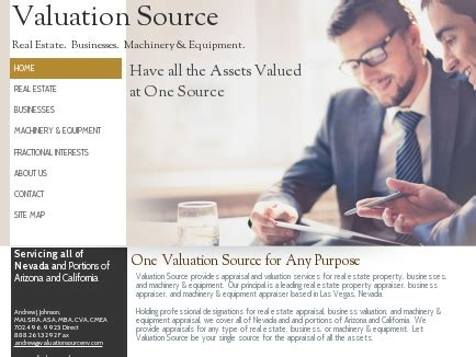 Mba Appraisal Services Inc by Valuation Source Appraisal Services Las Vegas Nv