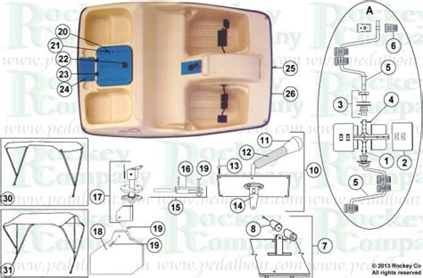 water wheeler paddle boat accessories parts from www pedalboat