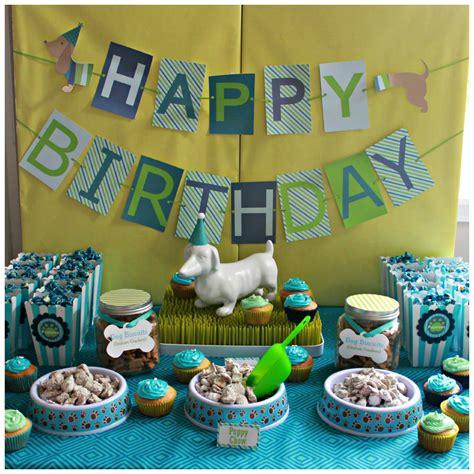 hot birthday themes hot dog puppy 1st birthday party project nursery