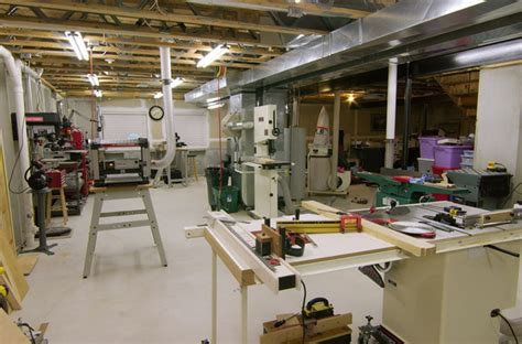 basement woodworking shop panofish 187 basement woodshop tour