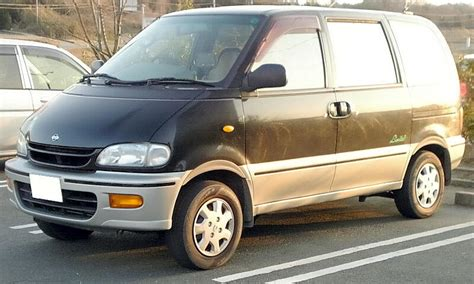 nissan serena 1997 modified english