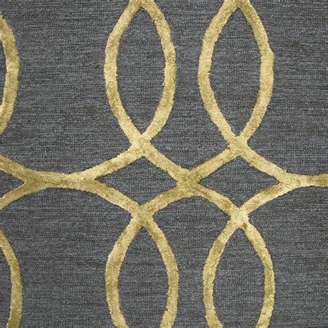 circular trellis wool area rug circular trellis wool area rug in blue gold 9 x 12
