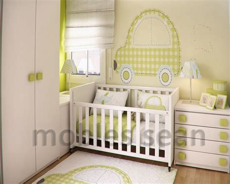 small nursery ideas space saving designs for small rooms