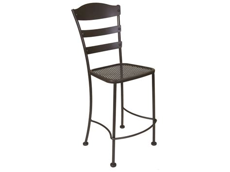 Wrought Iron Bar Stool Ow Chalet Wrought Iron Bar Stool 616 Bs