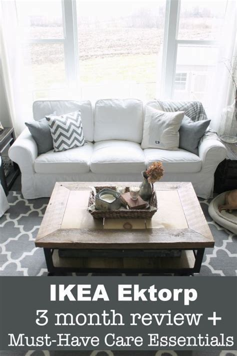 white ikea ektorp furniture review must care