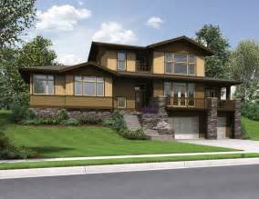 Slope House Plans by Sloping Lot House Plans A Look At Home Designs