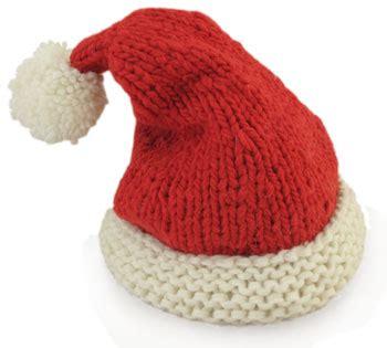 knitting pattern christmas hat santa hat knitkit morehouse farm