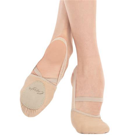capezio slippers leather pirouette modern shoe by capezio capezio h062