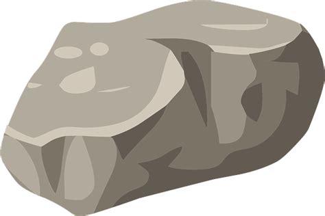 clipart rock vector gratis piedra boulder naturaleza imagen gratis
