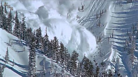 imagenes hd nieve impresionante avalancha de nieve en hd youtube