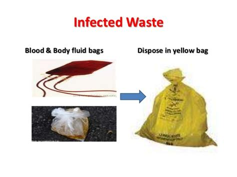 autoclaving the iv fluid bags how to manage hospital waste