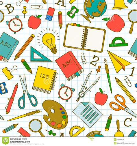 pattern school vector back to school seamless pattern royalty free stock photos
