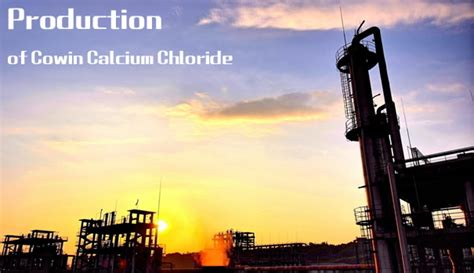 limited production in industry cowin calcium chloride