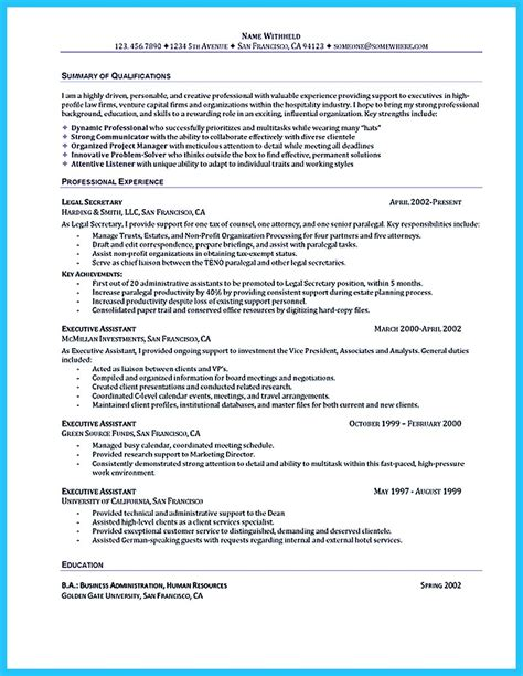 administrative assistant resume template free best administrative