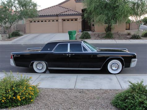 School Lincoln Continental by 1961 Lincoln Continental