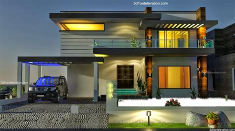 home front view design pictures in pakistan 3d front elevation com 2 2 kanal dha karachi modern