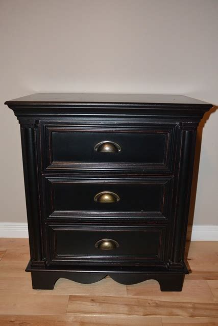 black bedroom end tables 2 black bedside tables monarkey home staging