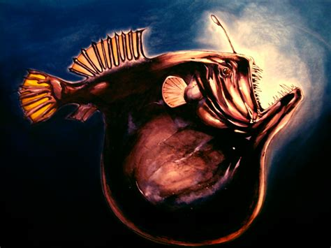 deep sea anglerfish by eurwentala on deviantart deep sea angler fish large by dfbovey on deviantart