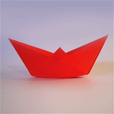 How To Make A Small Paper Boat - origami paper boat