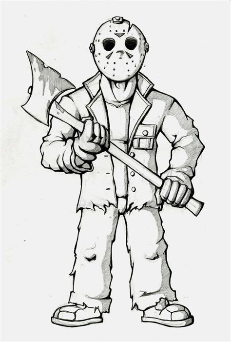 free printable jason mask jason voorhees hockey mask coloring coloring pages